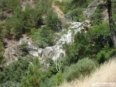 Cascadas Gavilanes,Garganta Chorro;Mijares;pueblos abandonados de madrid bosque en madrid rutas x ma